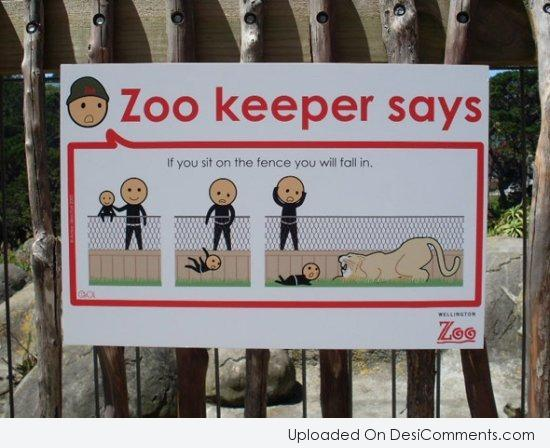 Picture: Zoo Keeper Says
