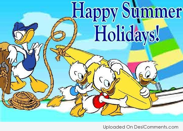 Picture: Happy Summer Holidays