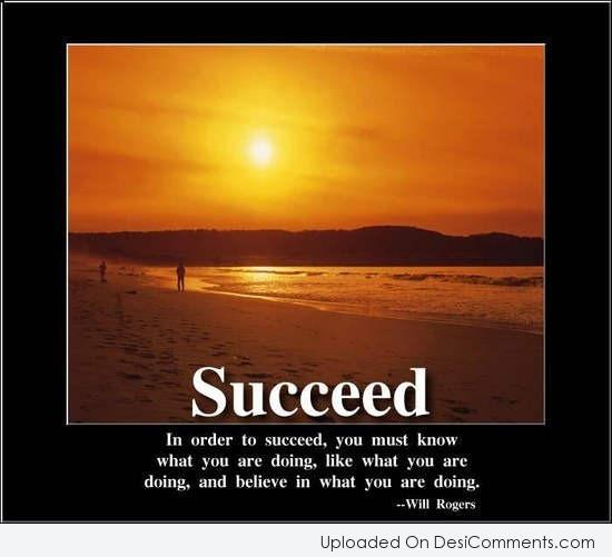 Picture: In Order To Succeed