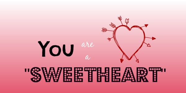 Picture: You Are a Sweetheart
