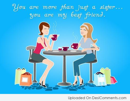 Picture: You Are More Than Just A Sister