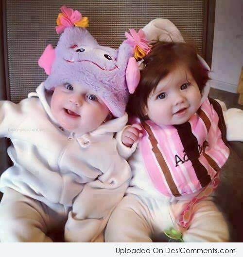 Picture: Two Cute babies