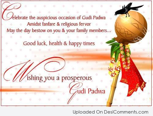 Picture: Wishing You A Prosperous Gudi padwa