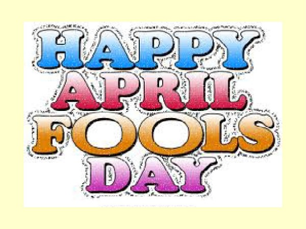 Picture: Happy April Fools Day