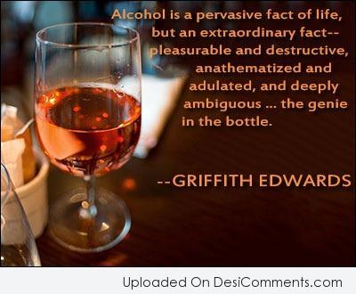 Picture: Alcohol Is A Pervasive Fact Of Life