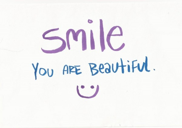 Picture: Smile You Are Beautiful