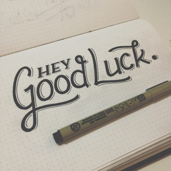 Picture: Hey Good Luck