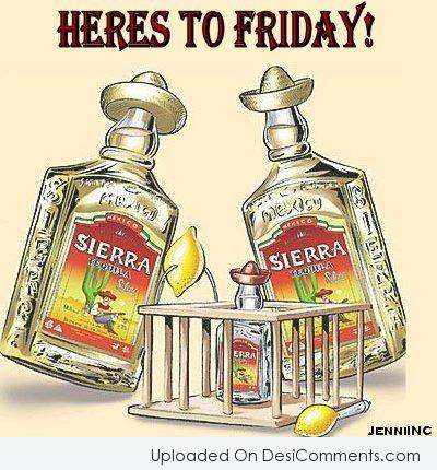 Picture: Heres To Friday