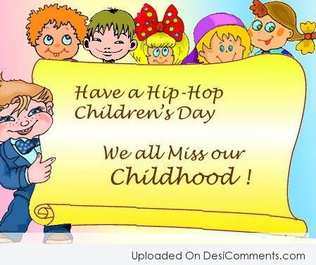 Picture: Have A Hip – Hop Children's Day