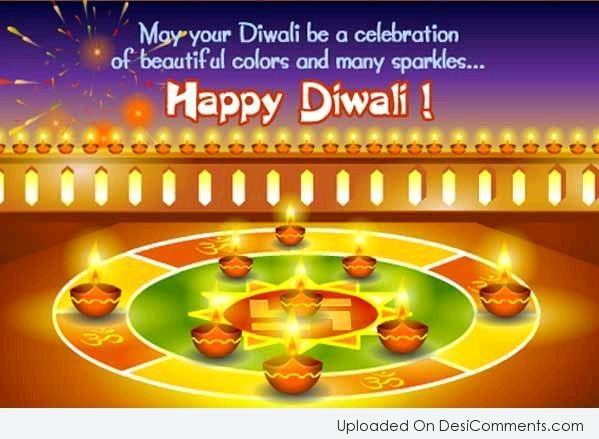 Picture: May Your Diwali Be A Celebration Of Beautiful Colors