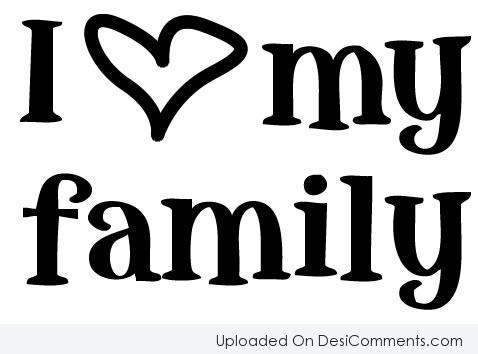 Picture: I Love My Family