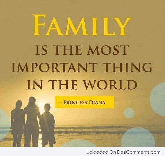 Picture: Family Is The Most Important Thing