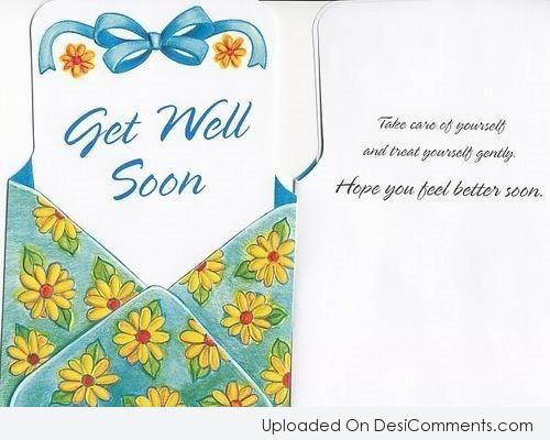 Picture: Get Well Soon