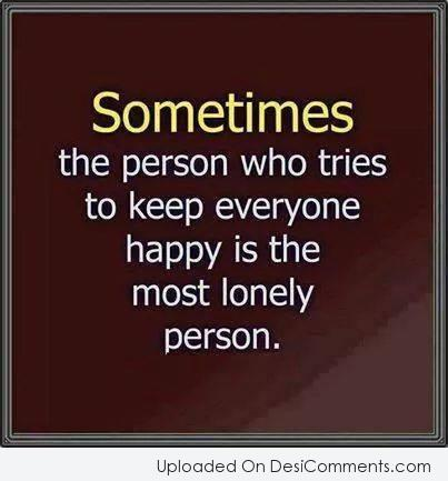 Most Lonely Person