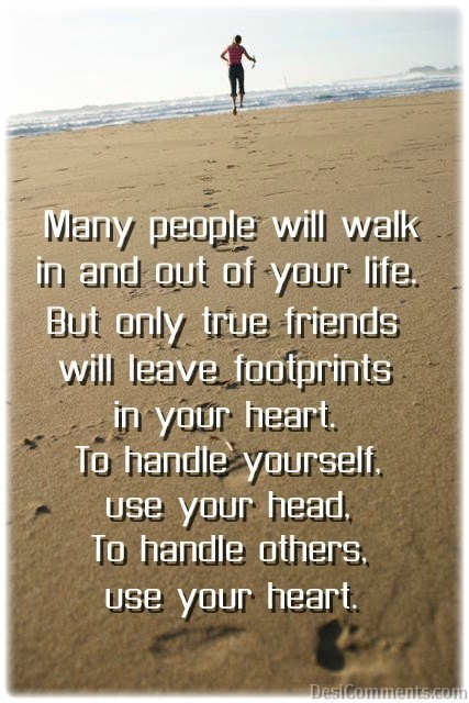 Leave Footprints In Your Heart