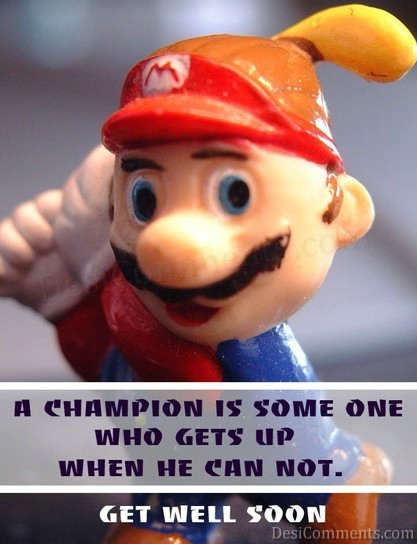 A Champion Is Some One