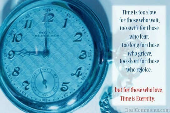 Times Is Eternity