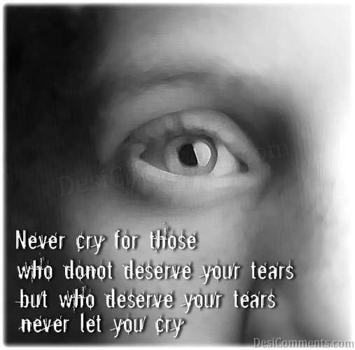 Picture: Never Cry