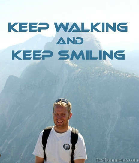 Walking With Smile