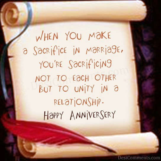 Happy Marriage Anniversary Quotes Hindi: Sacrifice In Marriage