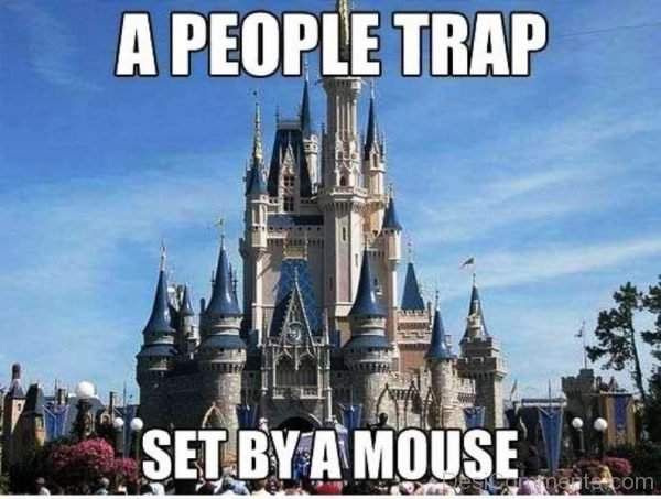 A People Trap Set By A Mouse