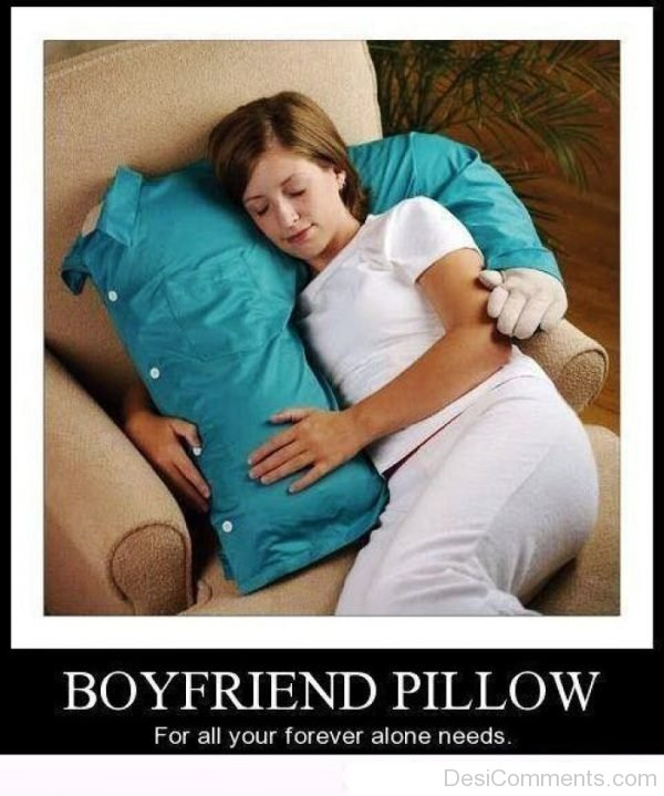 Boyfriend Pillow For All Your Forever
