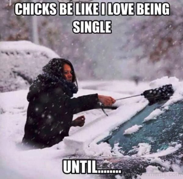 Chicks Be Like I Love Being Single