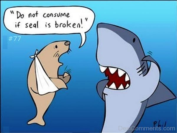 Do Not Consume If Seal Is Broken