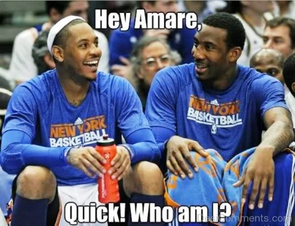 Hey Amare Quick Who Am I