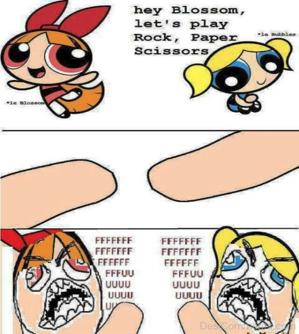 Hey Blossom Lets Play Rock
