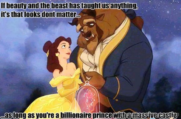 If Beauty And The Beast Has Taught Us