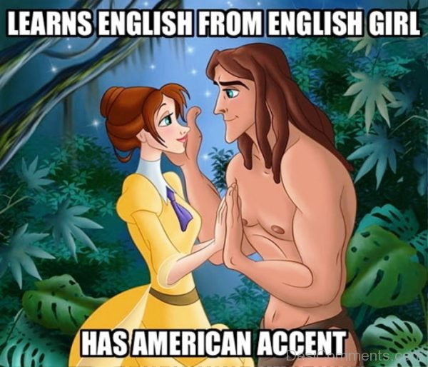Learns English From English Girl