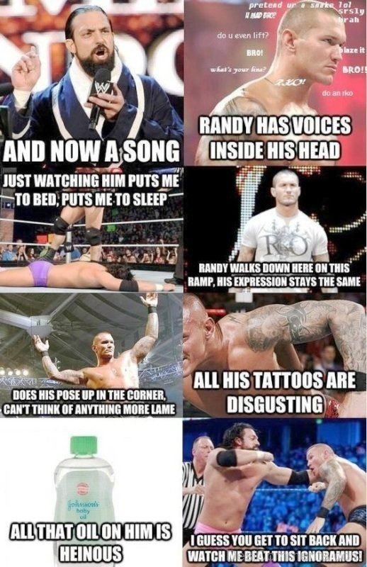 Randy Has Voices Inside His Head
