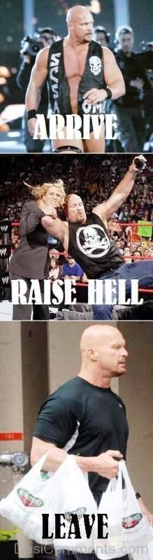 Stone Cold Be Like
