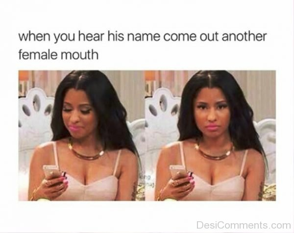 When You Hear His Name Come Out