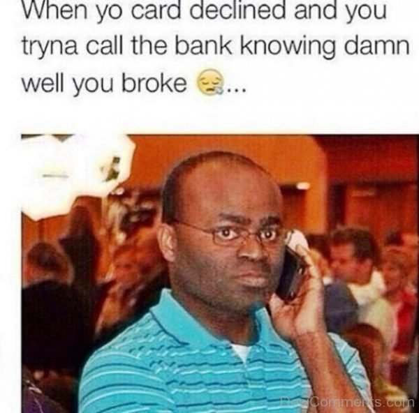 When Your Card Declined