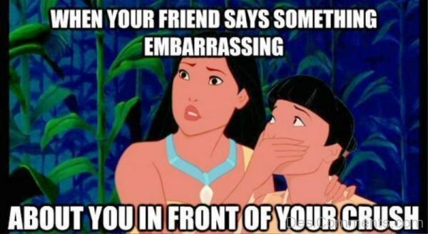 When Your Friend Says Something