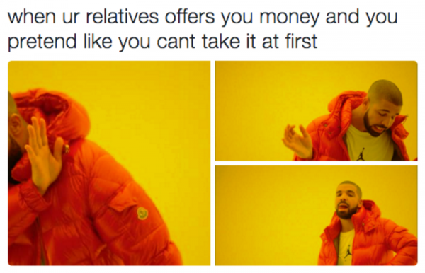 When Your Relatives Offers