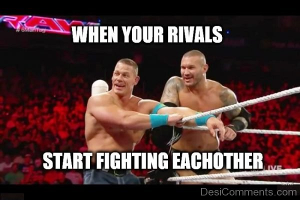 When Your Rivals Start