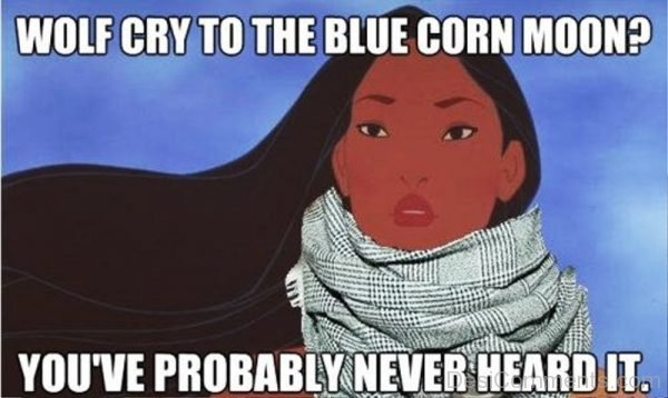 Wolf Cry To The Blue Corn Moon