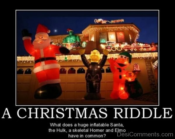 A Christmas Riddle