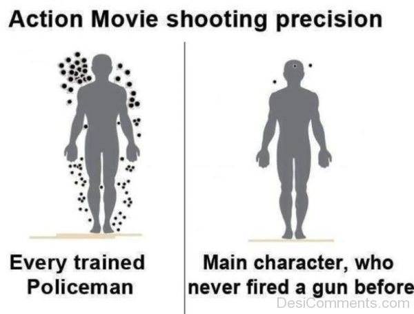 Action Movie Shooting Precision