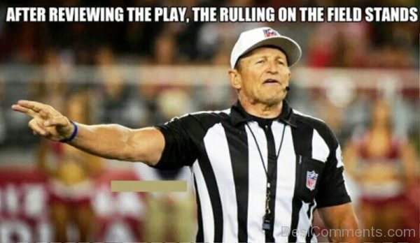 After Reviewing The Play