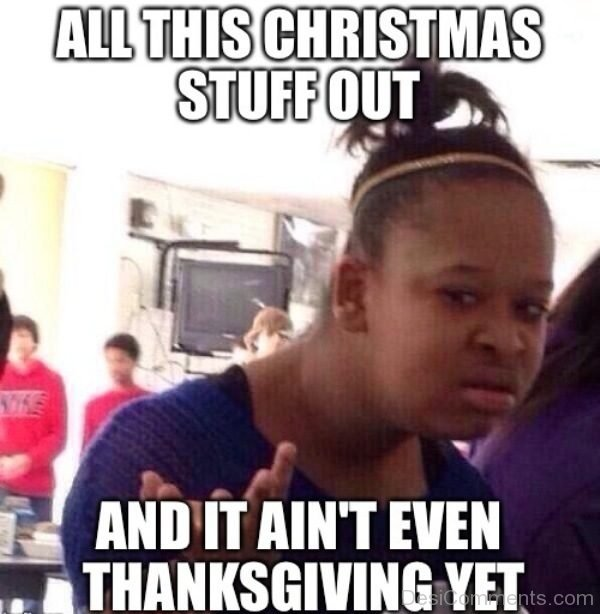 All This Christmas Stuff Out