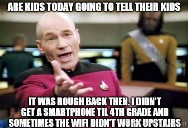 Are Kids Today Going To Tell Their Kids