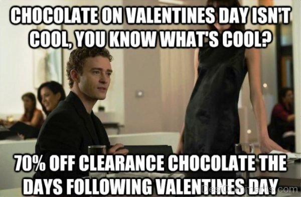 Chocolate On Valentines Day Isnt Cool