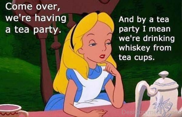 Come Over We re Having A Tea Party
