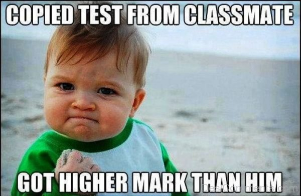Copied Test From Classmate