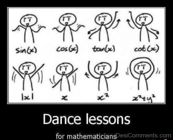 Dance Lesson For Mathematicians