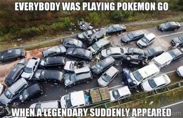 Everybody Was Playing Pokemon Go